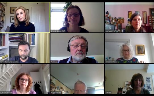 Corona, website and membership: the EFTRE executive's topics