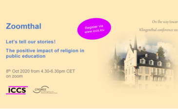 Register now! online event on storytelling and religion in education